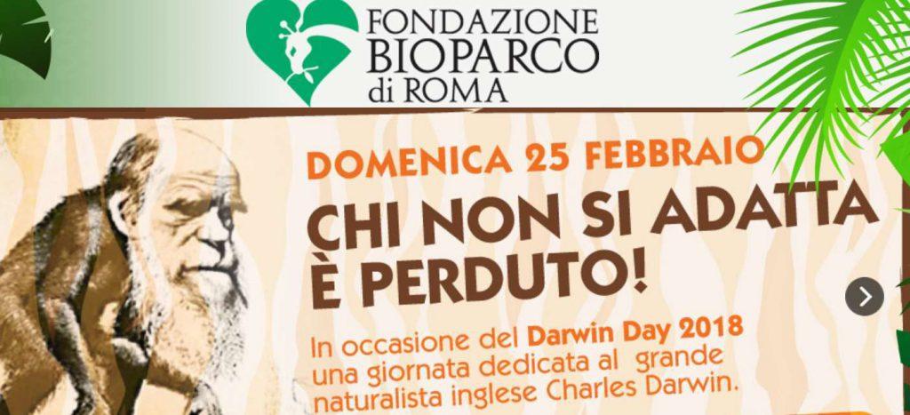 Darwin Day Bioparco di Roma 2018