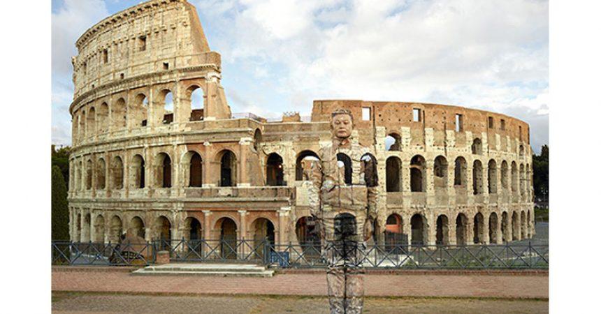 Mostra Liu Bolin Roma