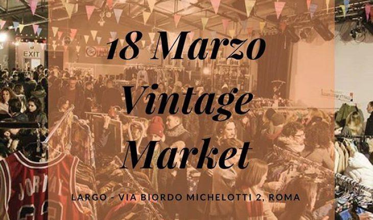 Vintage Market Roma Largo Venue