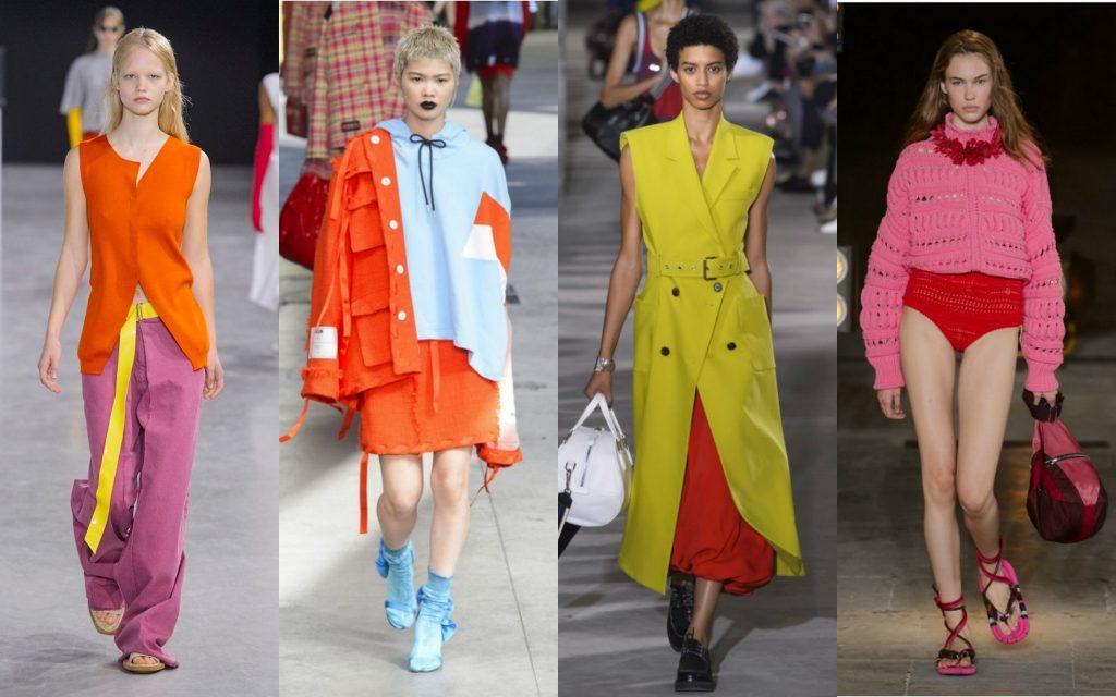 Colori moda Primavera 2018
