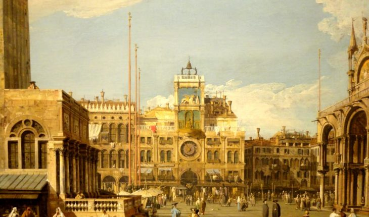 Canaletto a Roma