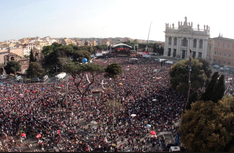 Concerto del Primo Maggio Roma