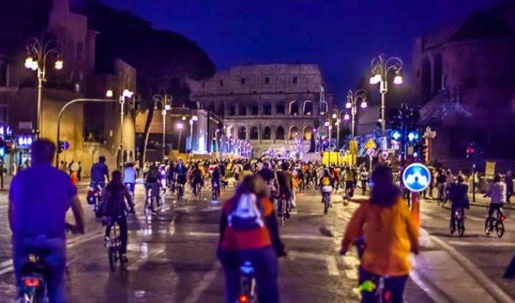 Pedalata della Luna Piena Roma