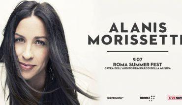 Alanis Morissette Roma