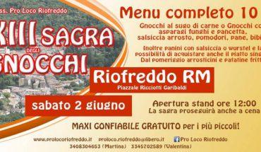Sagra Gnocchi Roma