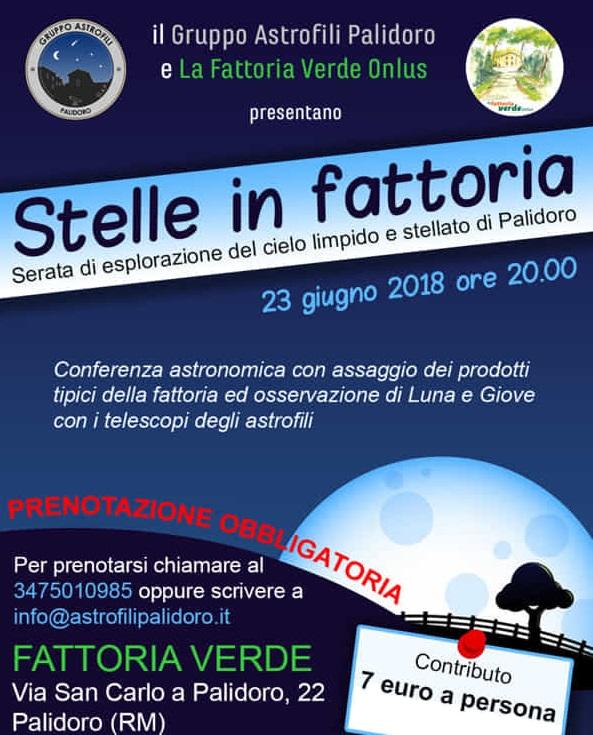 Serata Astronomica a Roma