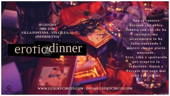 Erotic Dinner Villa Fontana Roma