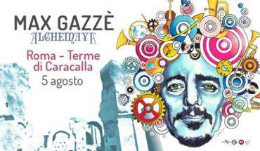 Max Gazzé Terme Caracalla