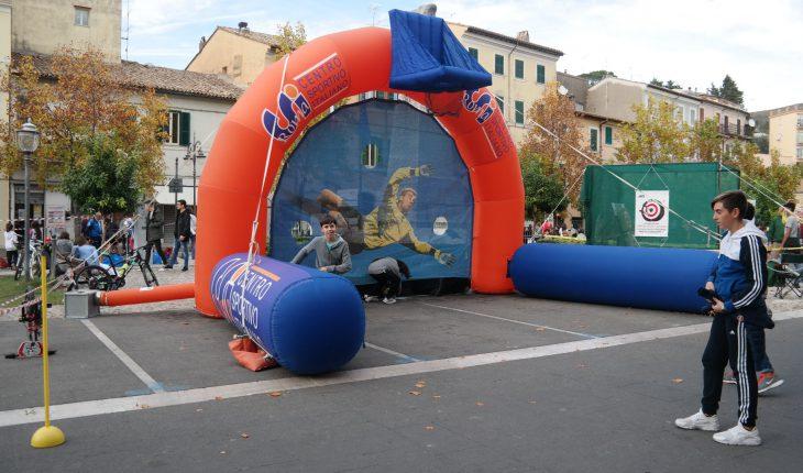 Villaggio dello sport Piazza Vittorio Roma