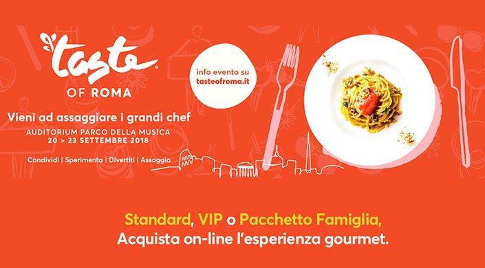 Taste of Roma settembre 2018