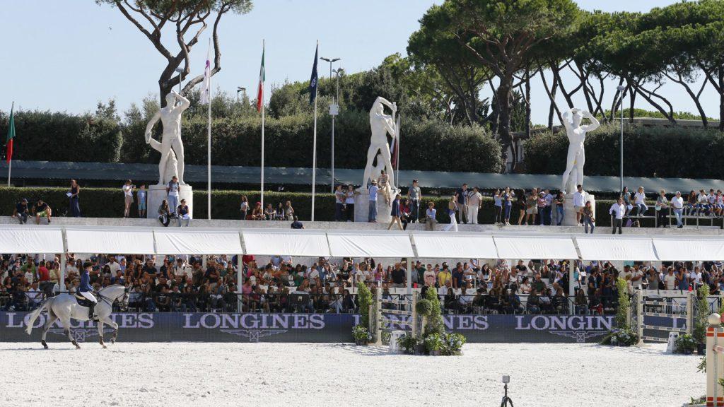 gara equitazione Roma
