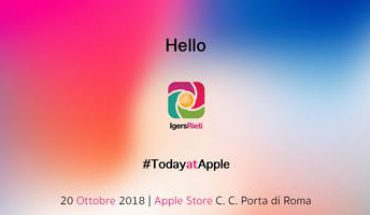 Instameet Apple Store Roma