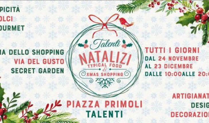 talenti natalizi roma