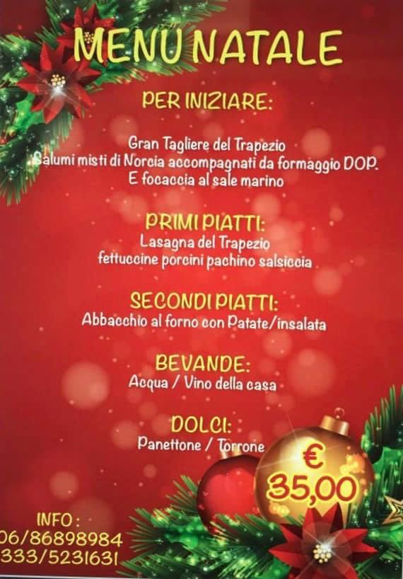 Pranzo di Natale a Roma