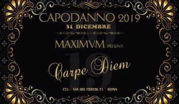 Capodanno Maximum Roma 2019