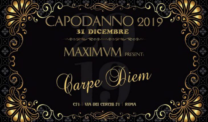 Capodanno Maximum Roma 2019