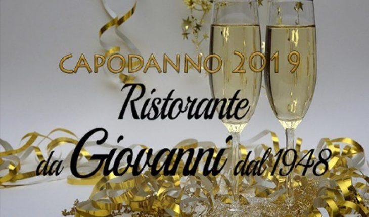 Capodanno Ristorante da Giovanni 2019