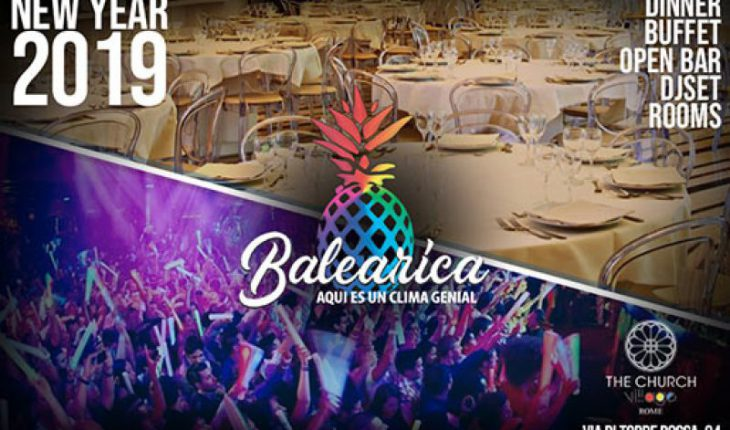 Capodanno Church Village Balearica 2019