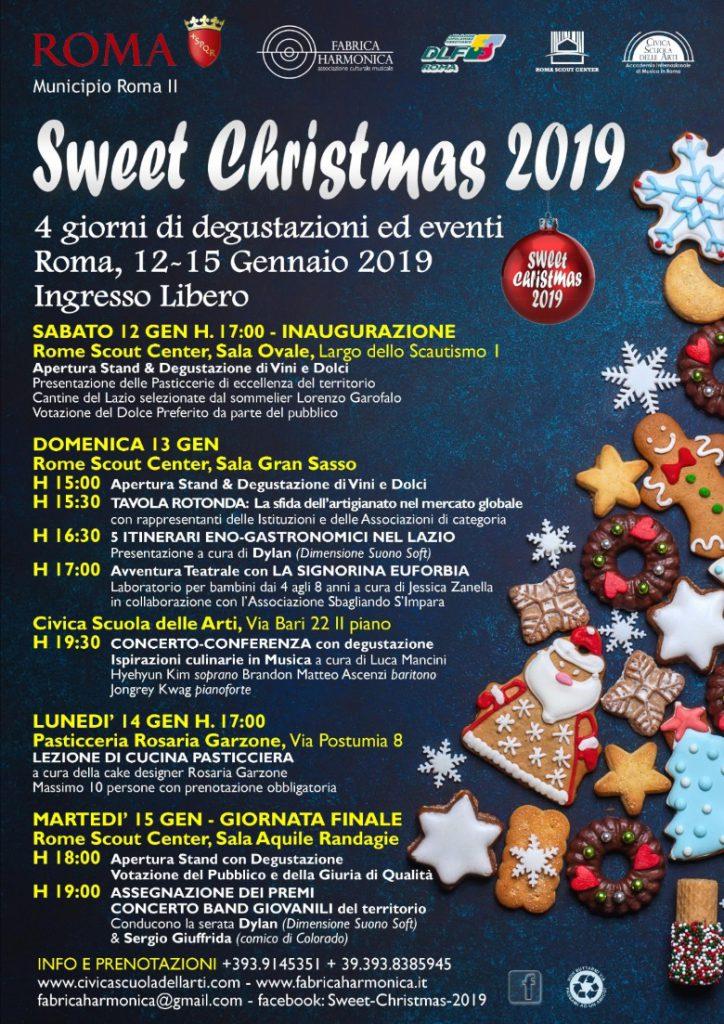 Sweet Christmas gennaio 2019
