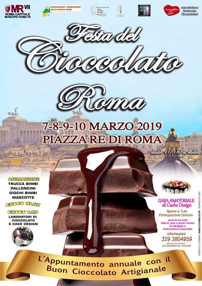 Festa del cioccolato Re di Roma