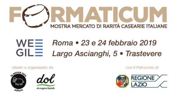Mostra Formaggi Roma 2019