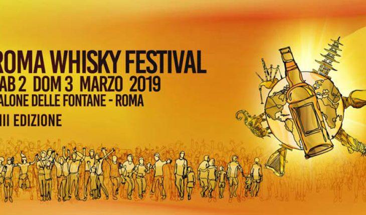 Roma Whisky festival marzo 2019