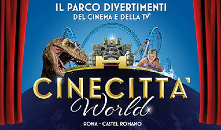 Cinecittà World apertura marzo 2019