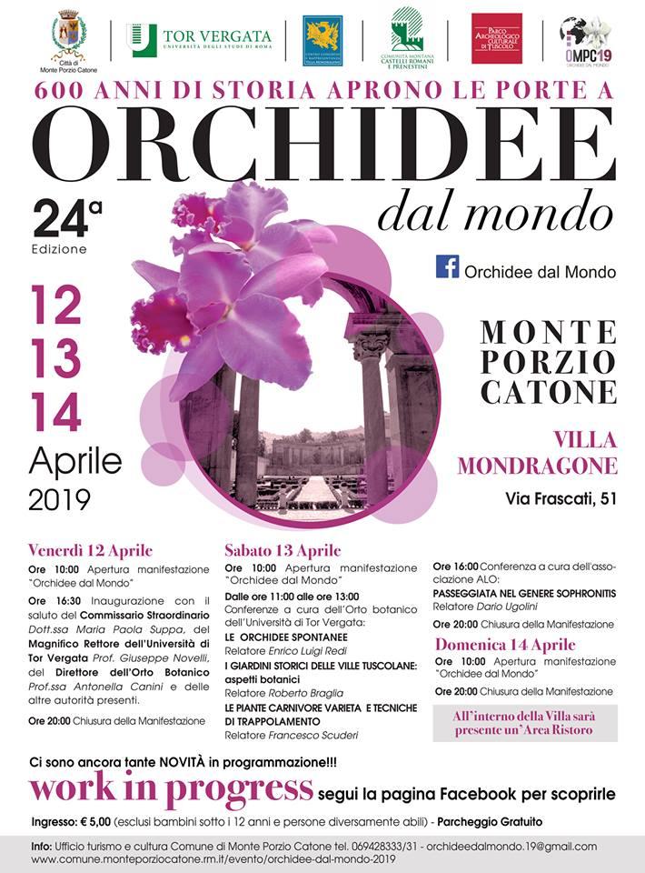 Orchidee dal Mondo Castelli Romani