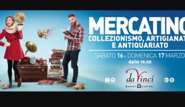 Mercato antiquariato Parco da Vinci