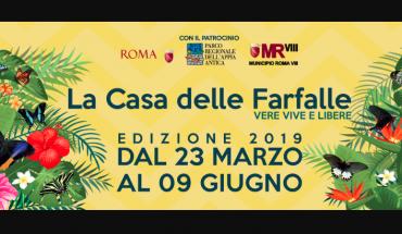 Casa delle farfalle Roma 2019