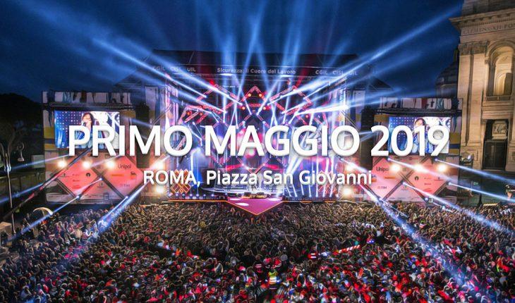 1 maggio 2019 a Roma