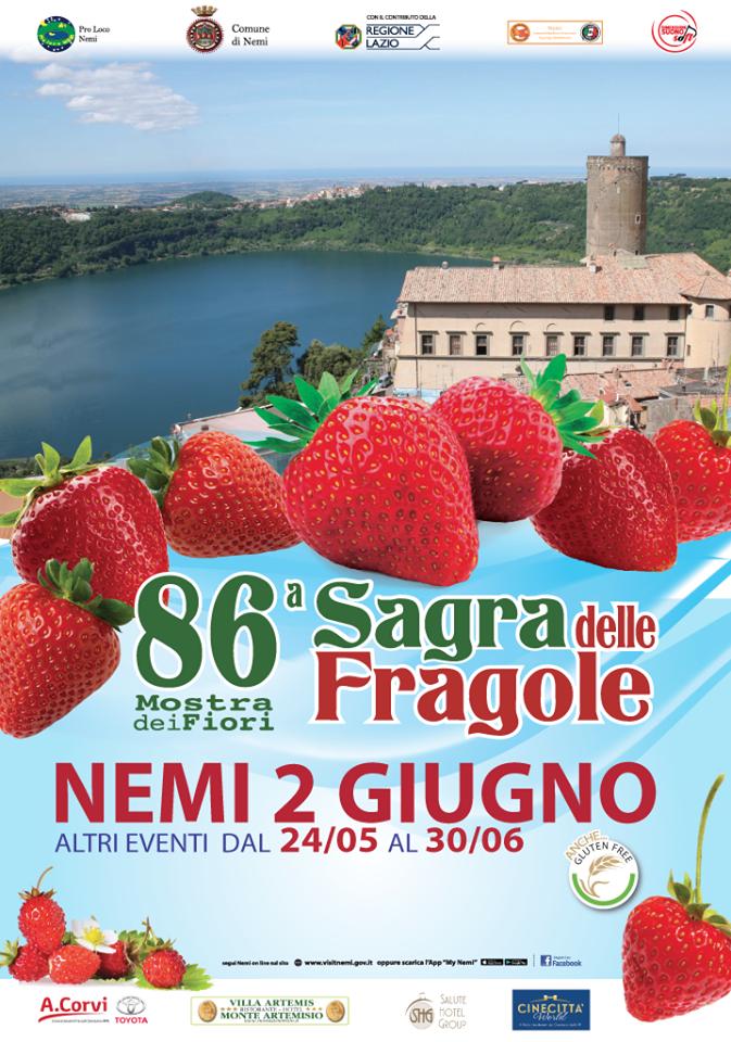 Sagra fragole Nemi