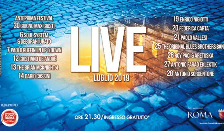 Porta di Roma Live luglio 2019