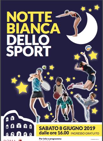 Notte Bianca dello Sport Roma 2019