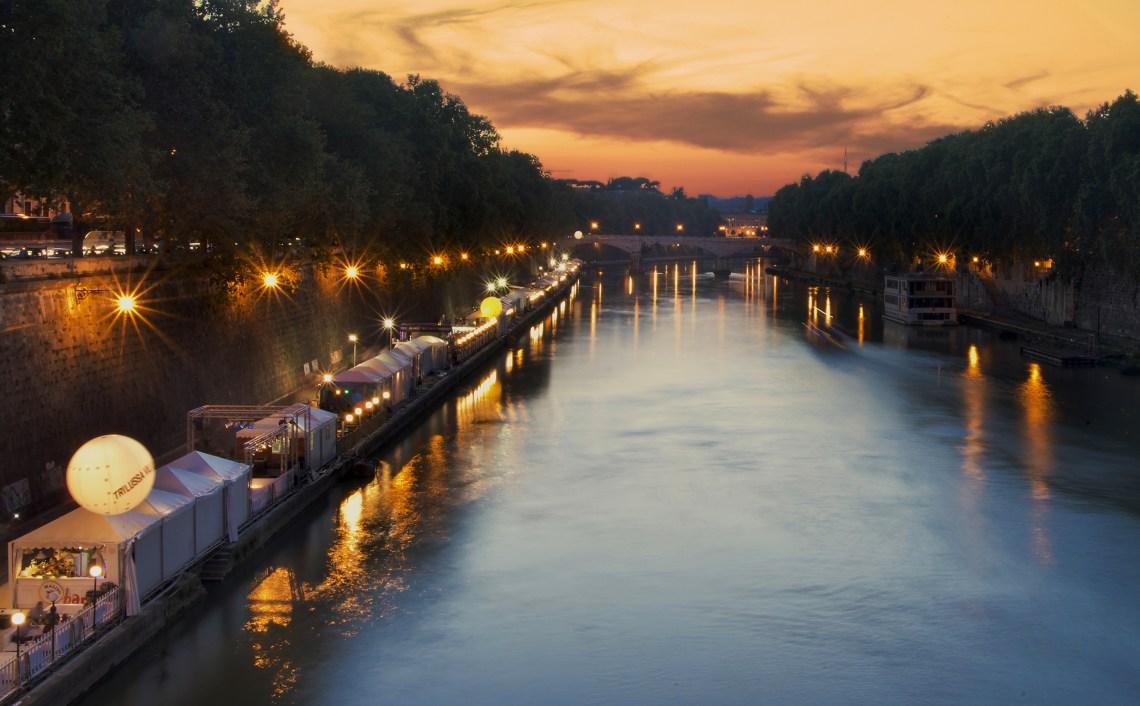 Lungo il Tevere Roma 2019