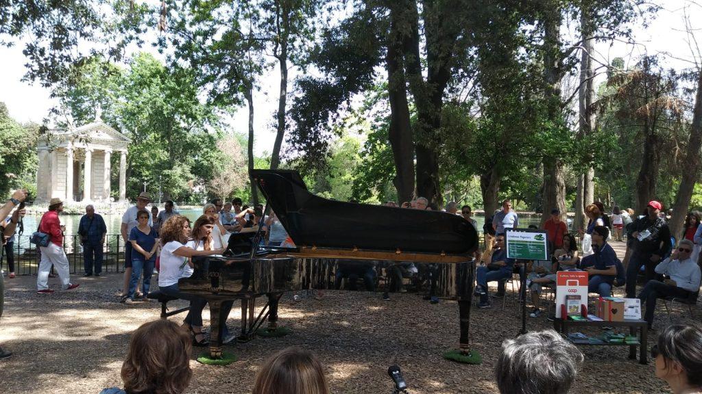 Piano Day Villa Borghese