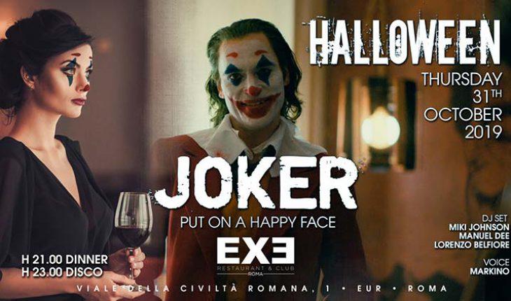 Halloween 2019 all'exe