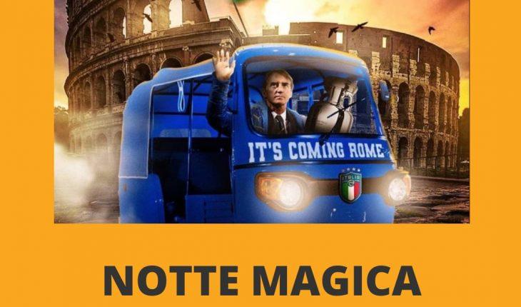 Italia vincitrice degli Europei 2021 Gli Azzurri tornano in patria