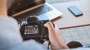 Sito web per fotografi