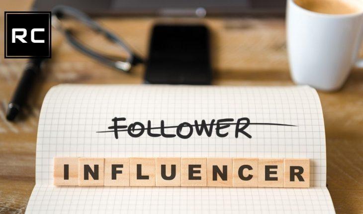 sito web per influencer