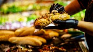 street food a roma.