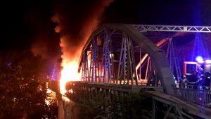Incendio al Ponte di Ferro
