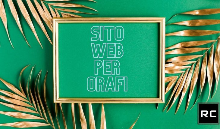Sito web per orafi